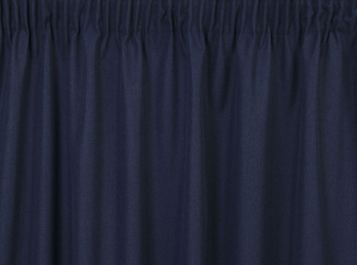 Cassidy II Navy Curtains