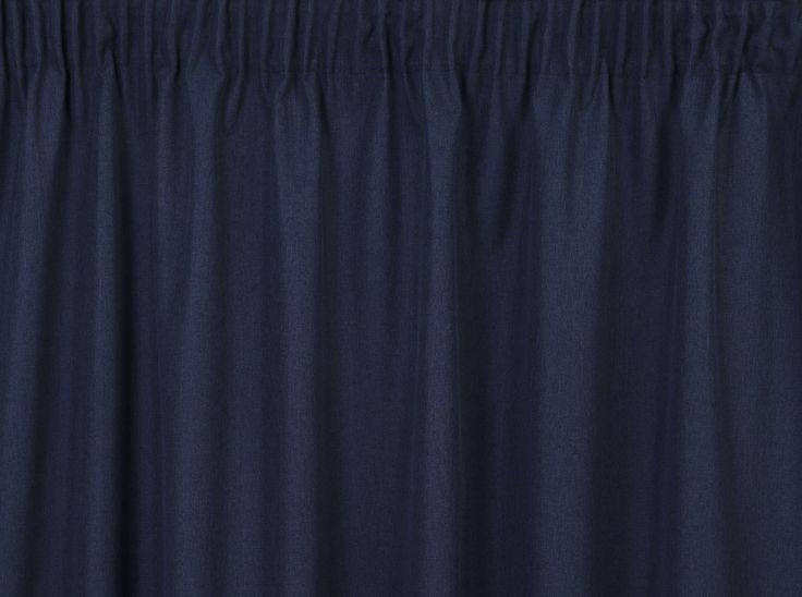 Cassidy II Navy Curtains
