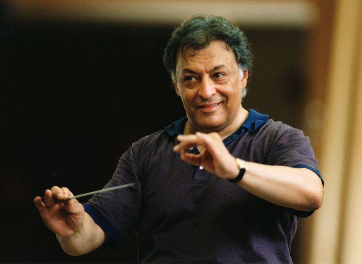 Zubin Mehta - along with Levine, Berstein, Dudamel, and Sawallisch are my favorite conductors to watch!