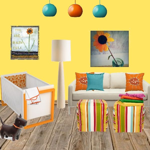 20 Ways To Decorate With Orange And Yellow: 17 Best Images About Turquoise, Orange, Yellow, And Light