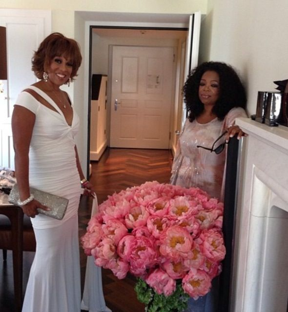 Oprah Winfrey and Gayle King Attend Tina Turners Wedding Celebration in Zurich. Tina says this is the wedding of her dreams!