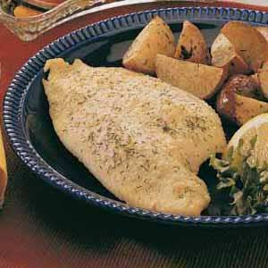 Baked Fish:  2 servings; One serving (prepared with perch) equals 119 calories, 2 g fat; Diabetic Exchanges: 3 lean meat