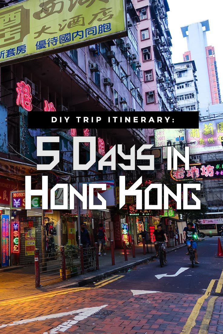 Travel outside mainland China: A five-day itinerary to visit Hong Kong, including a day trip to Macau