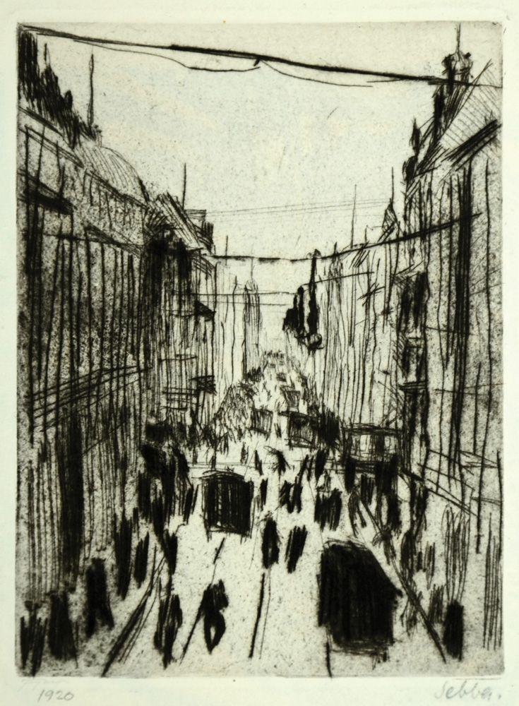 שלום סבא רחוב אירופאי, 1920