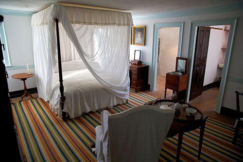 George slept here....Mt Vernon
