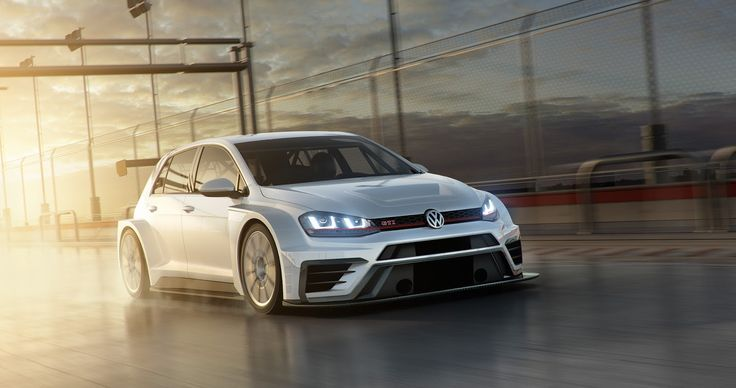 Volkswagen's New Golf GTI TCR Ready To Hit The Track