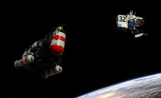 "Utility vehicle ""Tram"" and Grumman Space Warrior S-66 ...teaser | Flickr - Photo Sharing!"