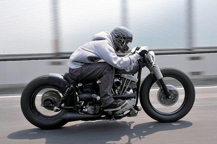 Slammed Bobber Love The Exhaust Motorcycles