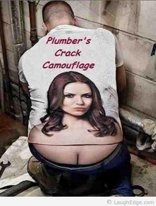 Plumbers Crack Camouflage