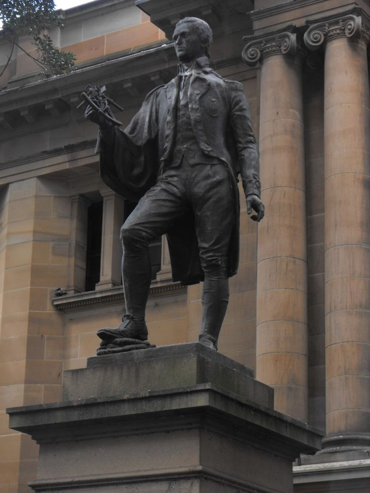 MaritimeQuest - Captain Matthew Flinders, RN Monument