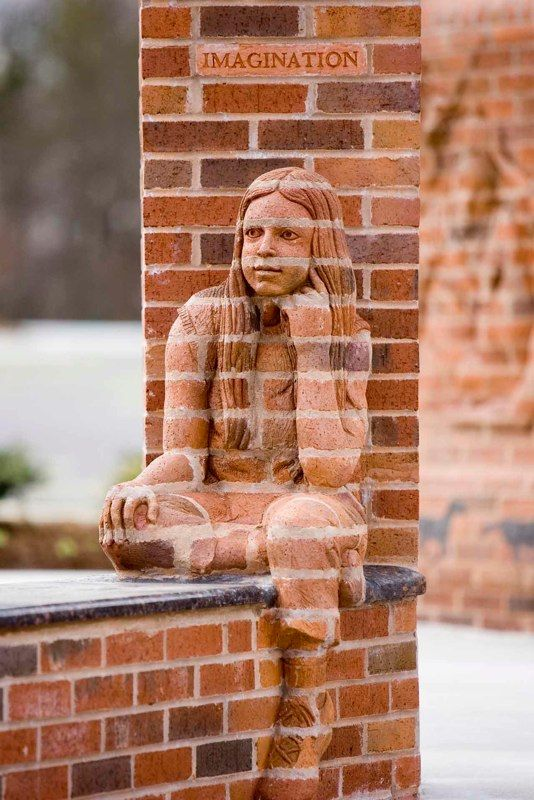Brad Spencer, brick sculpture