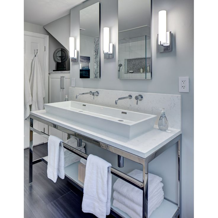 131 best bathroom vanities images on pinterest bathroom for Master bathroom fixtures