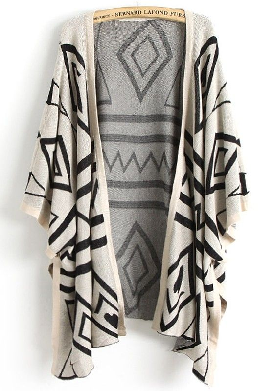 stylish + cozy!  I would wear this over leggings and a tank or t-shirt with flat sandals...Perfect for summer nights.