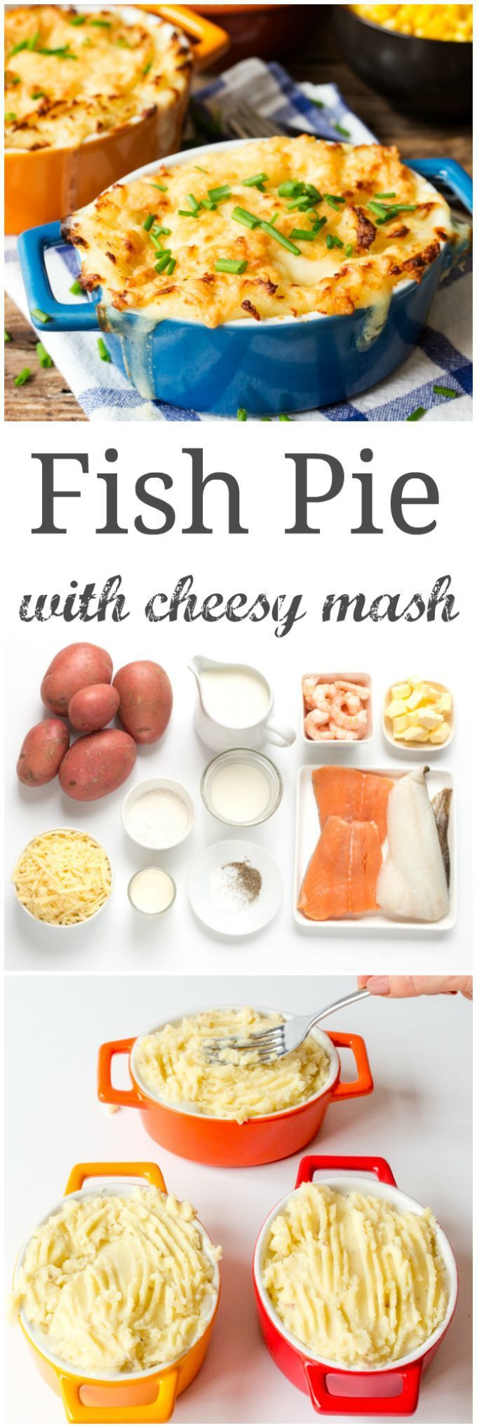 Nothing beats a creamy fish pie for some hearty comfort food.  GF version included with this recipe too.
