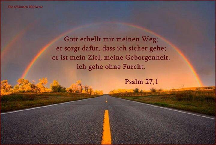 Gott erhellt meinen Weg.