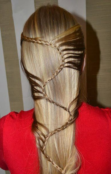 """Step by Step Guide to Do S-Braid Hairstyle: I have to learn this so I can keep giving the girls """"princess hair"""" :)"""