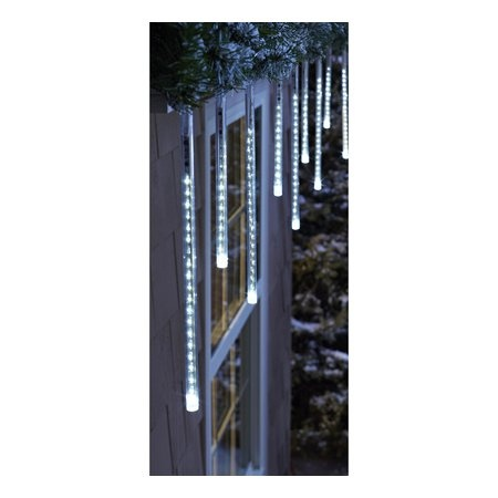 Philips 12ct. Cool White Cascading Icicle String Lights - White Wire - Target Exclusive ...