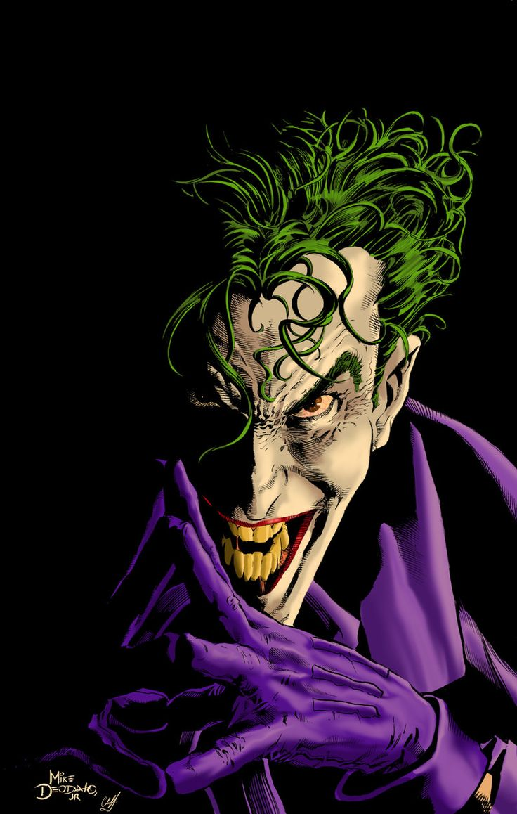 Joker by Mike Deodato Jr., Color by Cliff