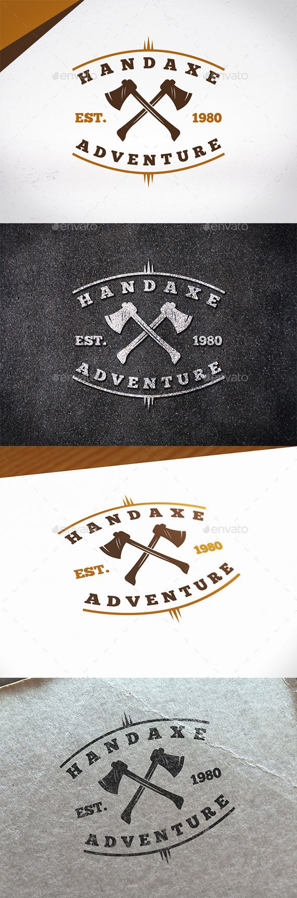 Hand Axe Logo Template - Crests Logo Templates Download here : https://graphicriver.net/item/hand-axe-logo-template/19989783?s_rank=174&ref=Al-fatih