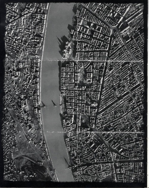 Budapest after WWII.