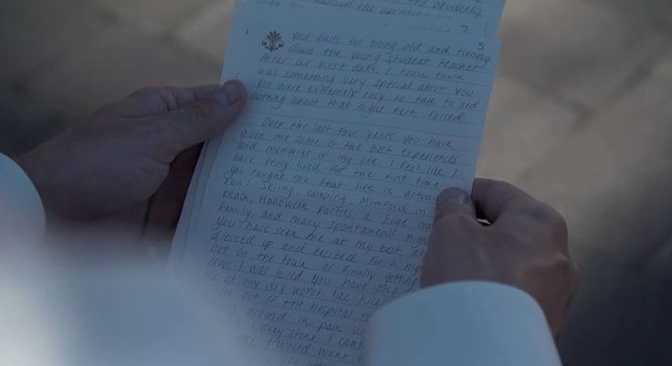 Writing a letter to your partner before the wedding ceremony is a great way to ease them of any pre-wedding jitters they may have, and also provide a reminder as to what has brought you two together for this special occasion in the first place.  http://www.alliancevideousa.com/  #wedding #weddingvideo #videography