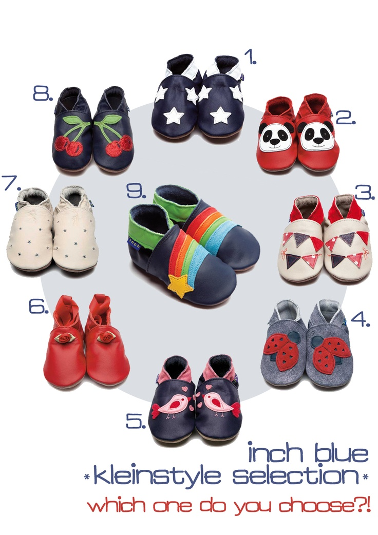 inch blue baby and kids shoes