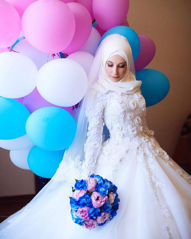 Аминка в ванильных облаках #wedding #meddina by meddina_photo