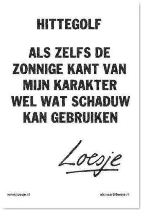 Hittegolf #Loesje