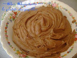 Le plaisir des papilles: Glaçage moka  FAIT 8/10 (attendre que le gâteau soit + froid...)