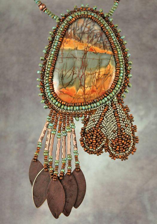 Bead artwork by Sue Horine