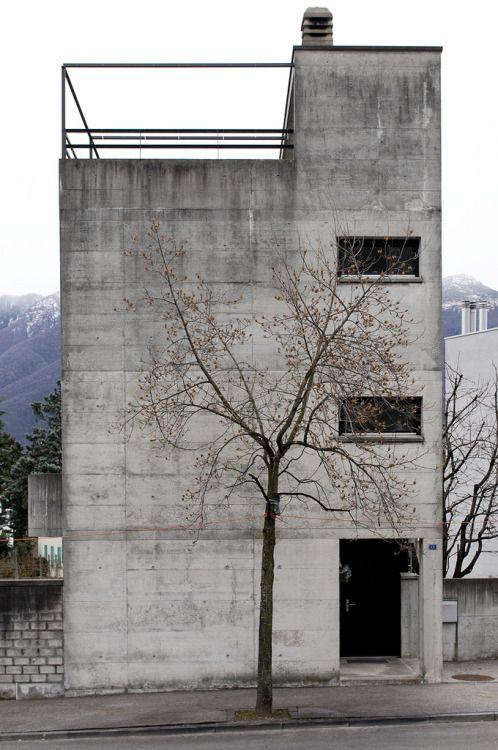Casa Guidotti, Switzerland, Luigi Snozzi