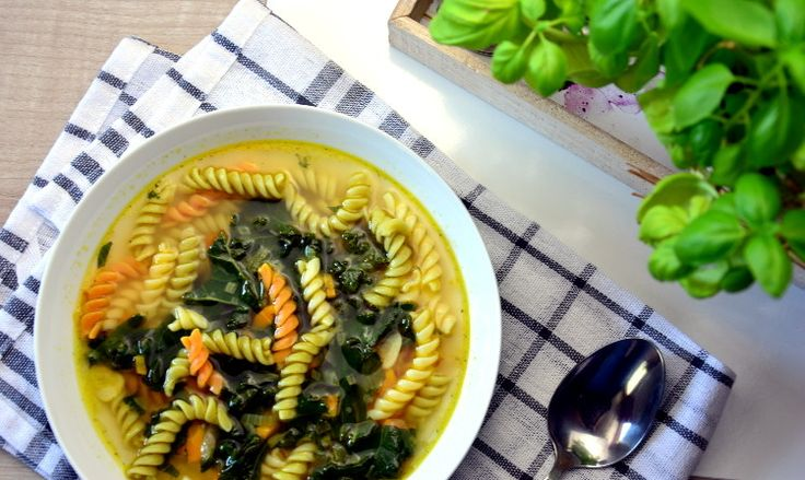 Przepis na zupę z jarmużem