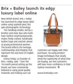 Brix + Bailey | Press + Media Coverage - www.brixbailey.com