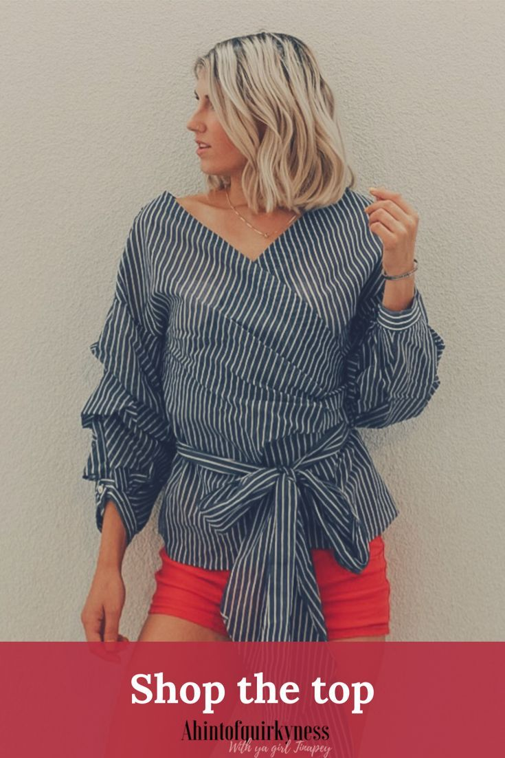 I'm loving this summer top! Want it yourself? Use TINAPEY20 for 20% off your order!