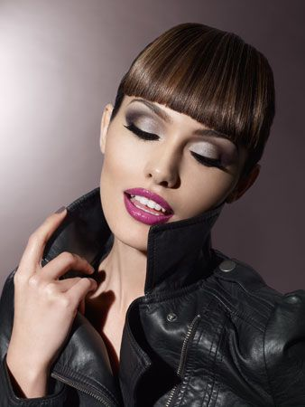 how to dress rocker chic   Isadora Rock Chick fall 2010 model makeup Isadora Rock Chic Makeup ...
