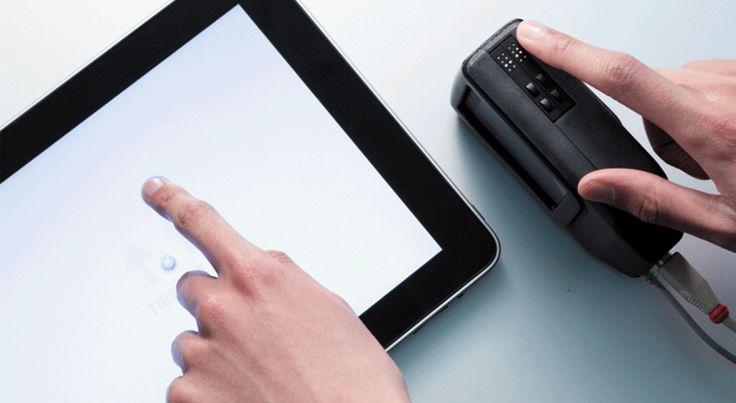 Des techno numériques pour aider les personnes malvoyantes