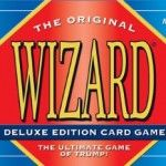 Wizard Card Game Deluxe- A fun card game with a deck of cards containing wizards and jesters