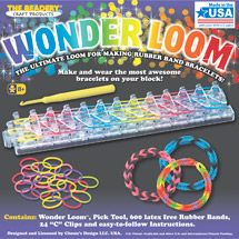 - want the rainbow loom if I can find it! If not, Walmart: Wonder Loom Rubber Band Bracelet Kit
