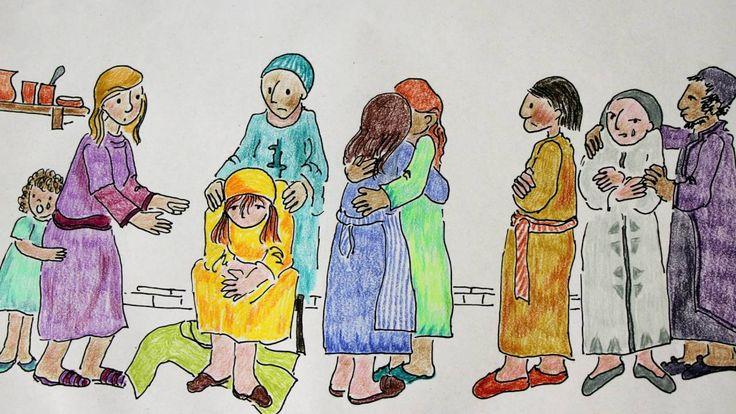 Raising of Lazarus (for kids)