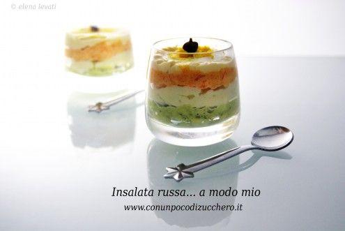 Reinterpretare un piatto amato da molto non è mai stato così bello: l'insalata russa secondo Elena, per HonestCooking.it.