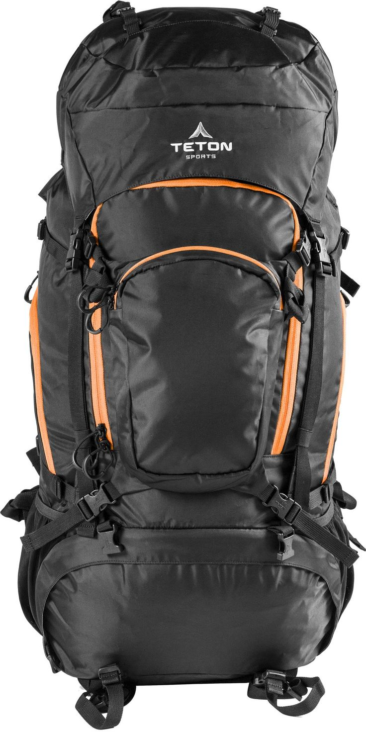 TETON Sports Grand 5500 Backpack; Ultralight Backpacking Gear; Hiking Backpack for Camping, Hunting, Mountaineering, and Outdoor Sports; Free Rain Cover Included. THE GRAND DADDY BLACKOUT PACK: TETON Sports largest internal frame backpack is set up for the longest and most extreme excursions; Size 5500 cubic inches (90 L): Pack weight 6 pounds (2.7 kg) with tarp poncho, 5.2 pounds (2.4 kg) without tarp poncho. INNOVATIVE DESIGN: Thickly-padded wishbone waist pad with independent top and...