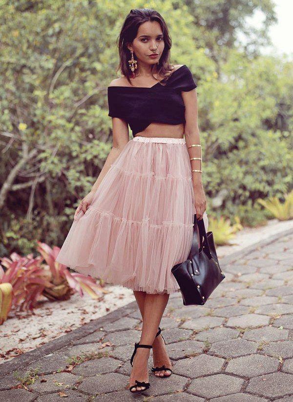 Платье пачка женское с чем носить фото