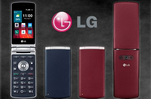 LG Wine Smart, the First Android Lollipop Flip Phone, Unveiled