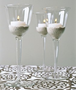 repurpose wine glasses