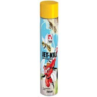 Rapido, concentrato e soprattutto efficace l'insetticida spray per vespe JetKill. Agisce immediatamente e fino a 4 metri!