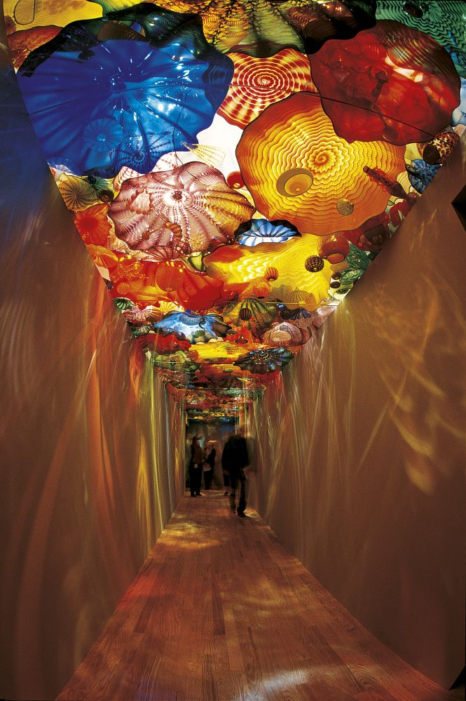 """Oklahoma Persian Ceiling, 2002, Oklahoma City Museum of Art, Oklahoma City, Okla., 40 x 6'"