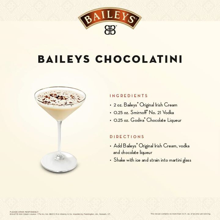 33 Best Images About Bailey's Drinks Recipes On Pinterest