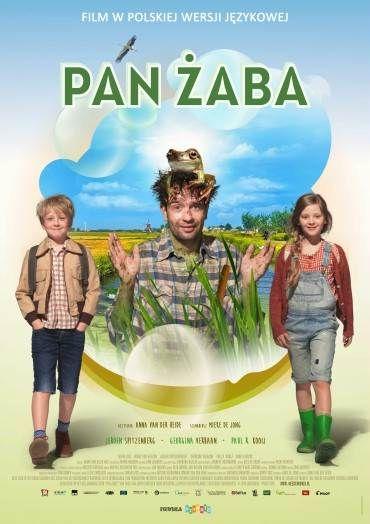 Pan Żaba (2016) - W kinach od 21 kwietnia, plakat - Film PL