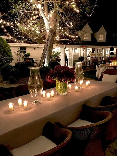 classic • casual • home: A Magical Evening Bridal Shower in Newport Beach