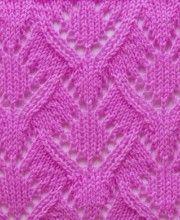 Lace Knit Stitch #Knitting http://knitchart.com/category/lace-knit-stitch-patterns.html